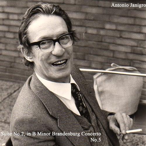 Suite No.2, in B Minor Brandenburg Concerto No.5 de Antonio Janigro