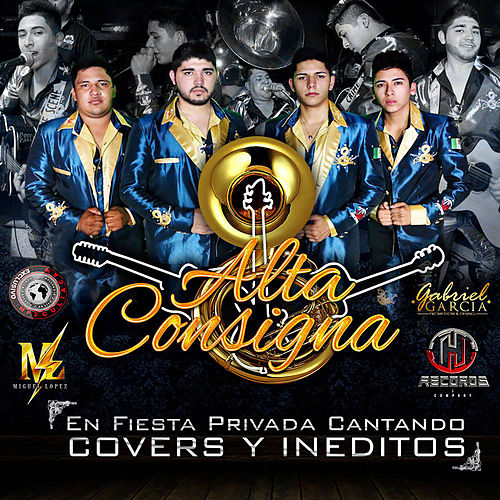 En Fiesta Privada Cantando Covers y Ineditos de Alta Consigna