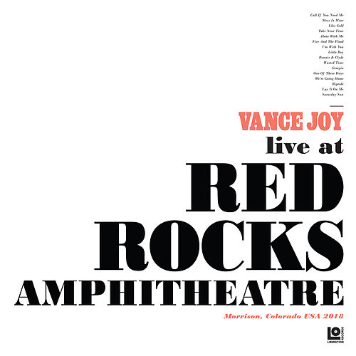 Lay It On Me (Live at Red Rocks Amphitheatre) de Vance Joy