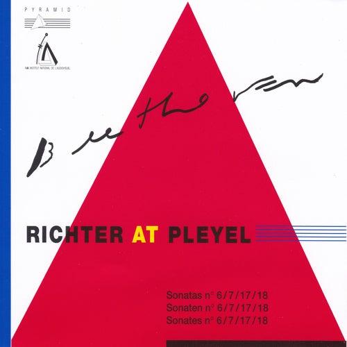 Beethoven / Chopin : Sviatoslav Richter at Pleyel / Sonatas No. 6, 7, 17, 18 (Sonaten No. 6, 7, 17, 18 / Sonates No. 6, 18) de Sviatoslav Richter