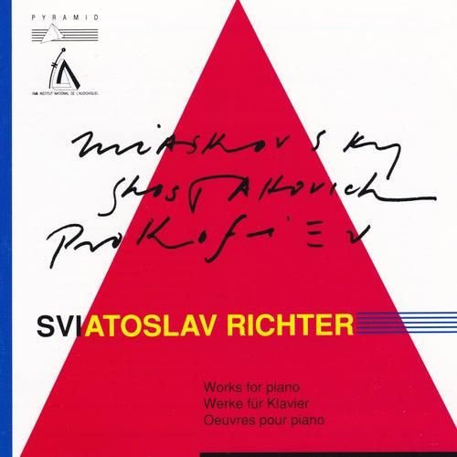 Miaskovsky / Shostakovitch / Prokofiev : Live recording, Grange de Meslay (Works for piano / Werke für Klavier / Oeuvres pour piano) de Sviatoslav Richter