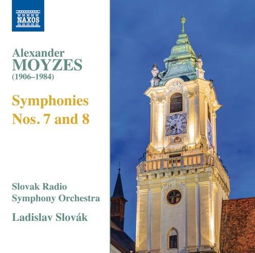 Moyzes: Symphonies Nos. 7 & 8 di Slovak Radio Symphony Orchestra