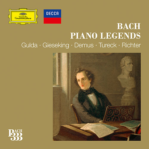 Bach 333: Piano Legends by Various Artists