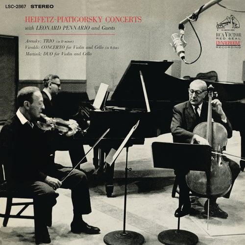 Arensky: Piano Trio No. 1 in D Minor & Vivaldi: Concerto in B-Flat Major & Martinu: Duo for Violin and Cello No. 1 (Remastered) de Gregor Piatigorsky
