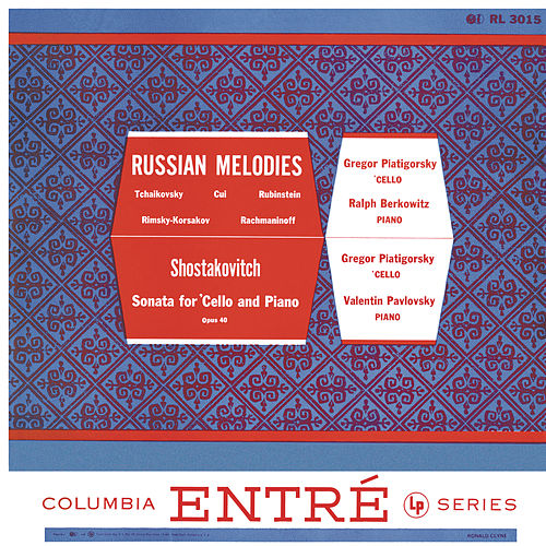 Russian Melodies (Remastered) de Gregor Piatigorsky