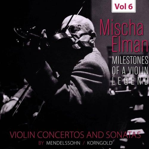 Milestones of a Violin Legend: Mischa Elman, Vol. 6 (Live) de Mischa Elman