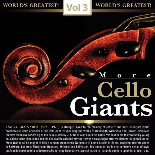 More Cello Giants, Vol. 3 de Enrico Mainardi