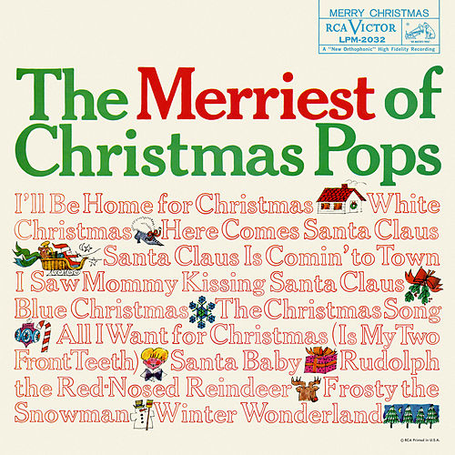 The Merriest of Christmas Pops by Various Artists