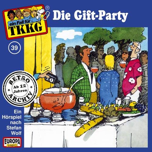 039/Die Gift-Party von TKKG Retro-Archiv