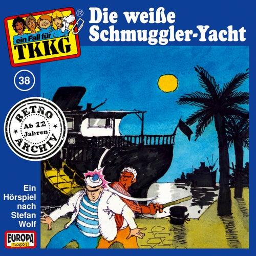 038/Die weiße Schmuggler-Yacht von TKKG Retro-Archiv