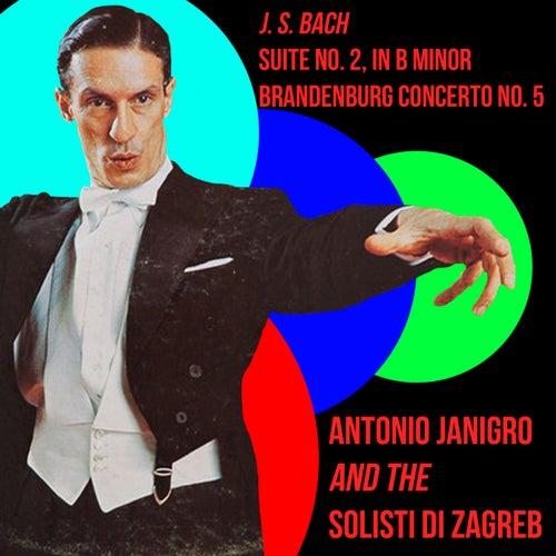 Bach Suite No. 2 in B Minor & Brandenburg Concerto No. 5 de Antonio Janigro
