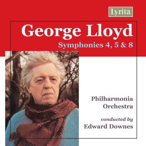 Lloyd: Symphonies Nos. 4, 5 & 8 de Philharmonia Orchestra
