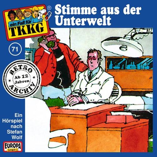 071/Stimme aus der Unterwelt von TKKG Retro-Archiv