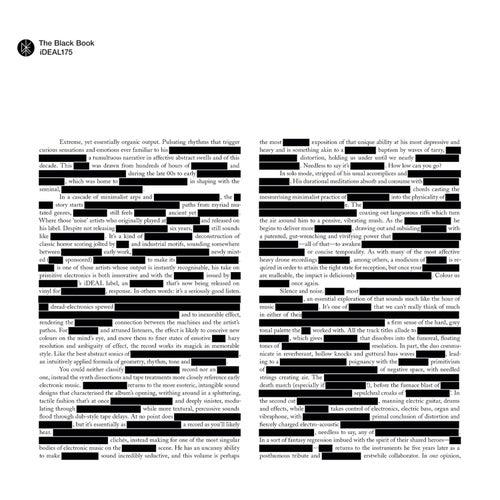 The Black Book von Various Artists
