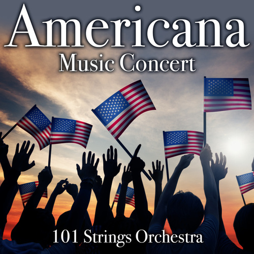 Americana Music Concert by 101 Strings Orchestra