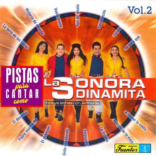 Pistas Para Cantar Como La Sonora Dinamita, Vol. 2 de La Sonora Dinamita