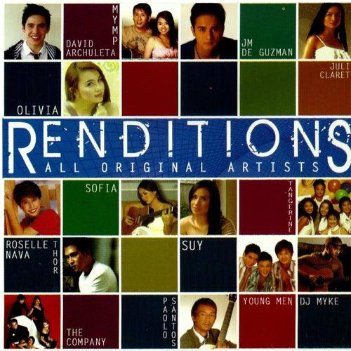 Renditions de Various Artists