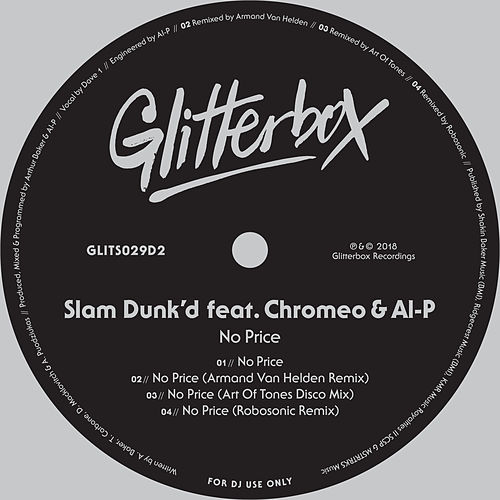 No Price (feat. Chromeo & Al-P) von Slam Dunk'd