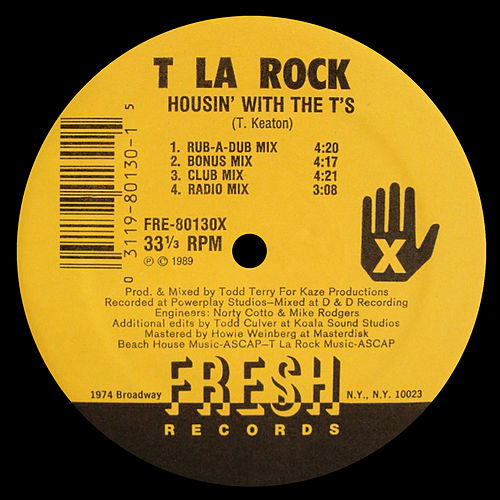 Housin' With The T's / T-n-Off by T La Rock