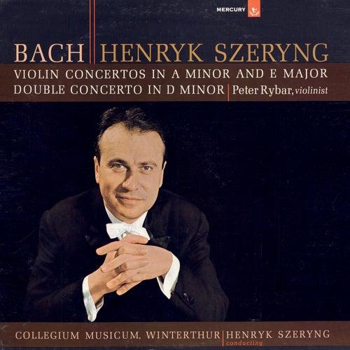 Bach, J.S.: Violin Concertos Nos. 1 & 2; Double Concerto de Henryk Szeryng