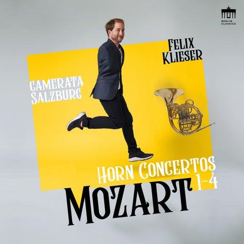 Mozart: Horn Concertos 1-4 by Felix Klieser