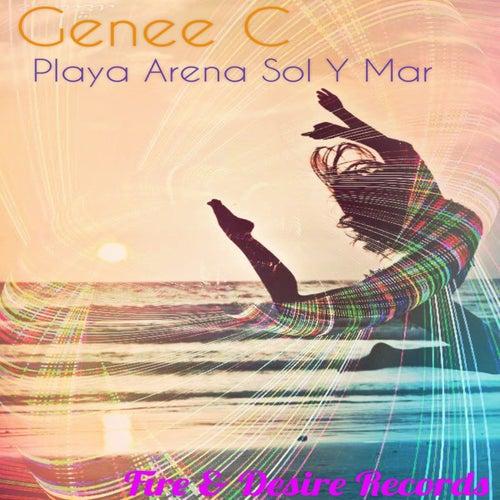 Playa Arena Sol y Mar by Genee C