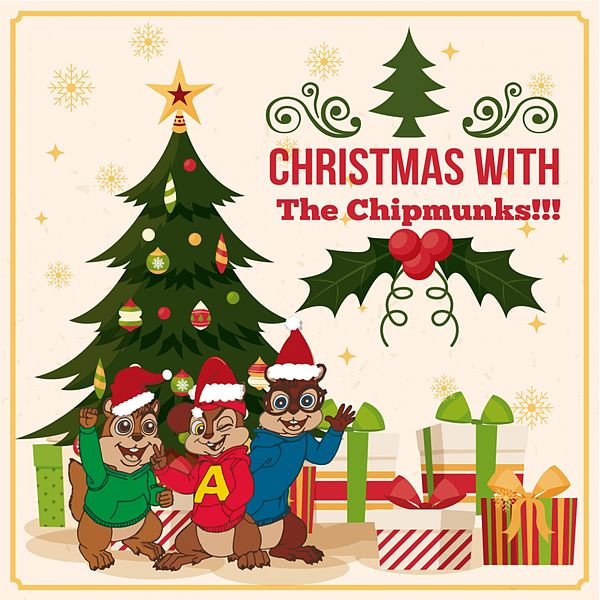 Chipmunks Christmas.Christmas With The Chipmunks By Alvin And The Chipmunks