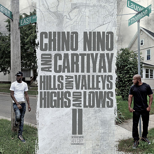 Hills and Valleys Highs and Lows 2 by Chino Nino