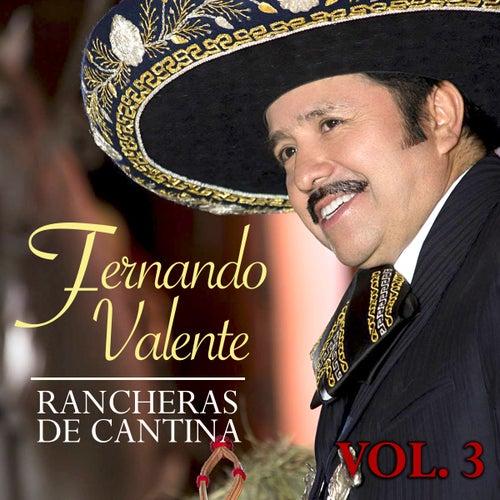 Rancheras de Cantina (Vol. 3) de Fernando Valente