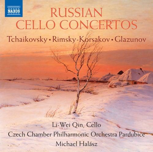 Russian Cello Concertos von Li-wei Qin