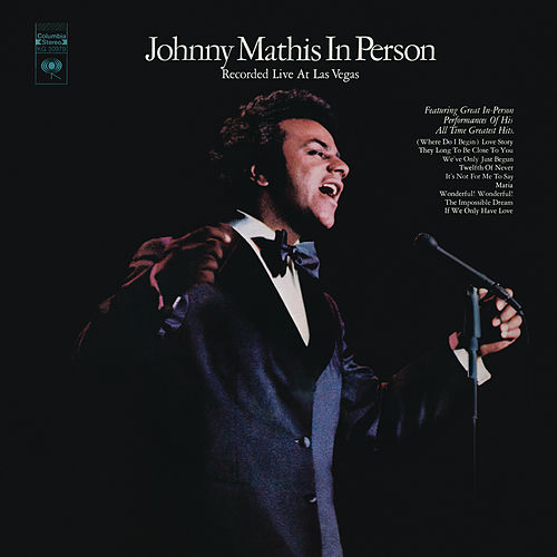 In Person (Live) de Johnny Mathis