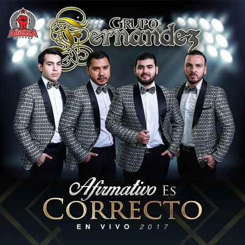 Afirmativo Es Correcto (En Vivo) by Grupo Fernandez