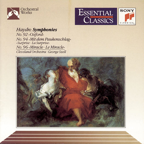 Haydn: Symphonies Nos. 92, 94 & 96 by George Szell
