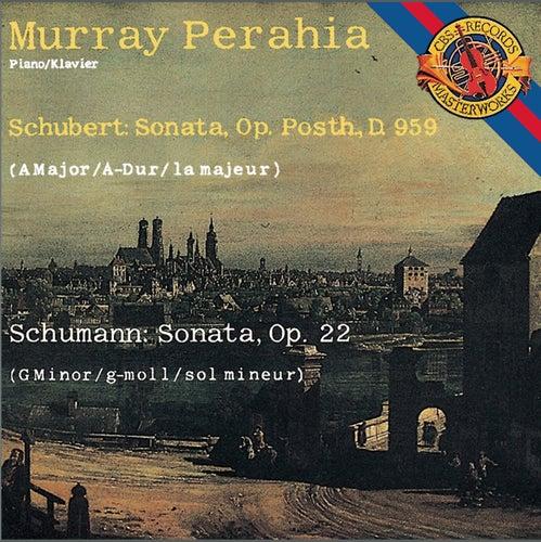 Schubert: Piano Sonata No. 20 in A Major - Schumann: Piano Sonata No. 2 in G Minor de Murray Perahia