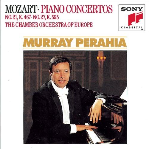 Mozart: Piano Concertos Nos. 21 & 27 de Murray Perahia