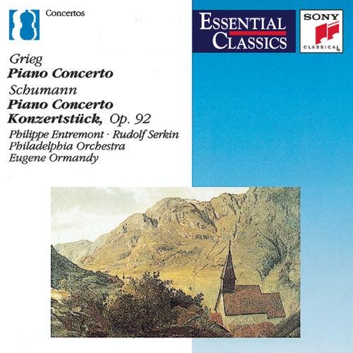 Grieg & Schumann: Piano Concertos von Eugene Ormandy