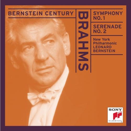 Brahms: Symphony No. 1; Serende No. 2 de Leonard Bernstein / New York Philharmonic