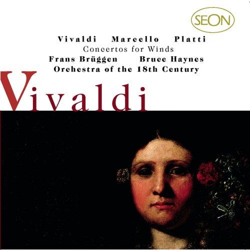 Vivaldi: Concerti for Flute, Strings and Basso continuo, Op.10, Nos. 1-6; Marcello/Platti: Concerti for for Oboe, Strings and Basso continuo von Frans Brüggen