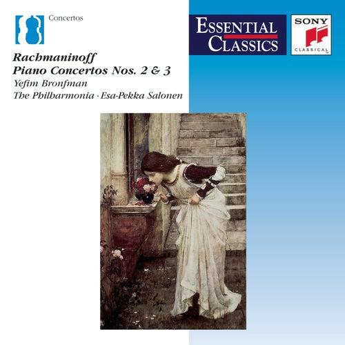 Rachmaninoff: Piano Concertos Nos. 2 & 3 von Yefim Bronfman