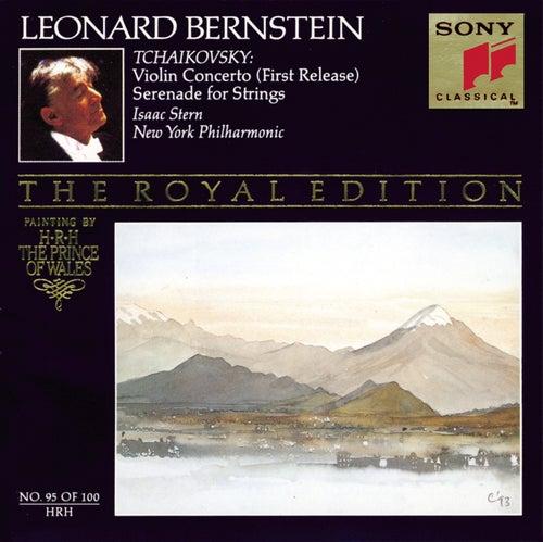 Tchaikovsky: Violin Concerto & Serenade for Strings de Leonard Bernstein