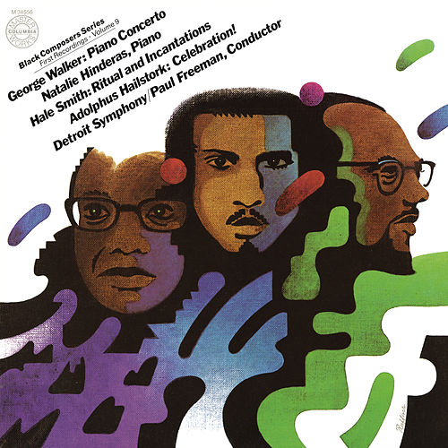 Black Composer Series, Vol. 9: George Walker, Hale Smith & Adolphus Hailstorck (Remastered) de Paul Freeman