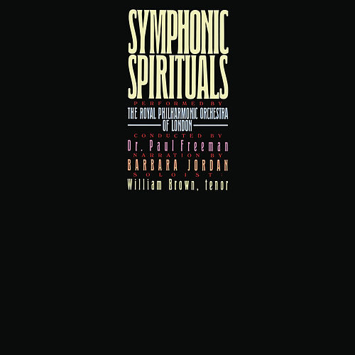 Symphonic Spirituals (Remastered) de Paul Freeman