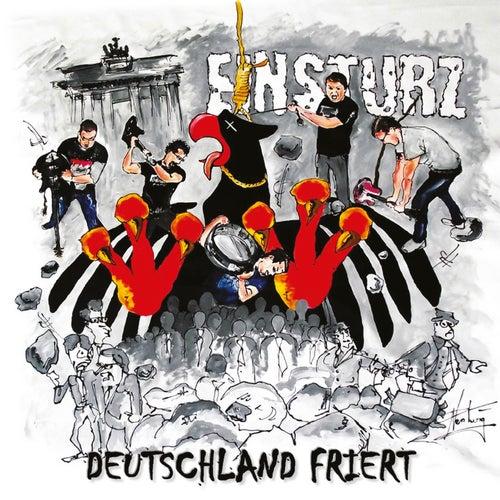Deutschland friert by Einsturz
