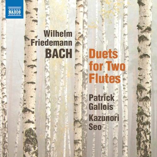 W.F. Bach: 6 Duets for 2 Flutes von Patrick Gallois