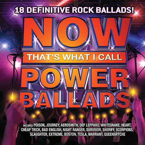 NOW Power Ballads by Various Artists