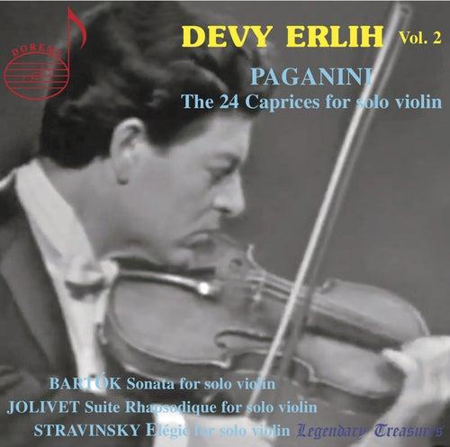 Devy Erlih, Vol. 2: Paganini Caprices de Devy Erlih