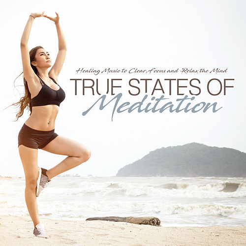 True States of Meditation Healing Music to Clear, Focus and Relax the Mind von Various Artists