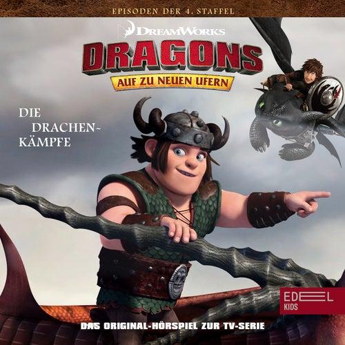Folge 37: Der schreiende Tod-Singer / Die Drachenkämpfe (Das Original-Hörspiel zur TV-Serie) von Dragons - Auf zu neuen Ufern