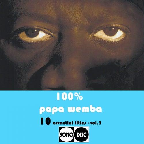100% Papa Wemba Vol.3 (10 Essential Titles) de Various Artists