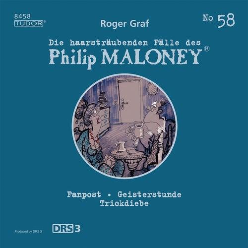 Die haarsträubenden Fälle des Philip Maloney, Vol. 58 von Michael Schacht